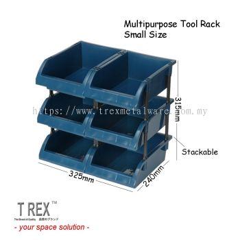[6 in 1] Felton Stackable Tool Rack / Multipurpose Tool Box / Hardware Organizer