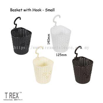 Felton Plastic Basket with Hook (Small)