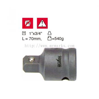 MK-TOL-88804 1x3/4 IMPACT ADAPTOR