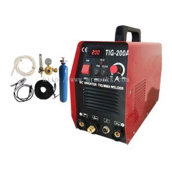 MKX-TIG200A (200Amp) TIG MACHINE INVERTER