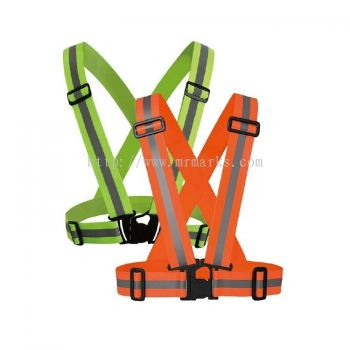 MK-SSC-20041 SIMPLIFIED SAFETY VEST/FLUORESCENT CLOTH