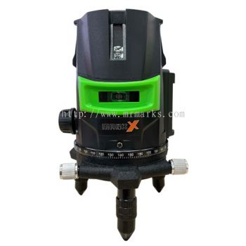 MKX-2024 MARK-X 5 LINE LASER LEVEL 360��  ROTARY LASER WITH STAND