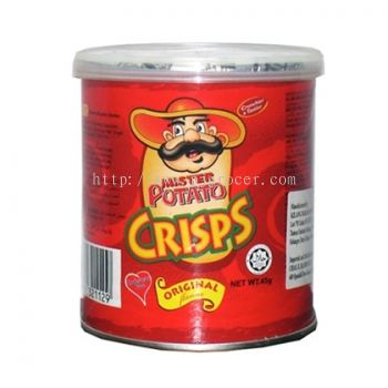 Mister Potato Crisps Original 45gm