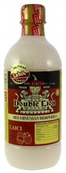 KHH Double Lion Bes Minuman Berperisa Laici 495ml