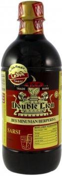 KHH Double Lion Bes Minuman Berperisa Sarsi 495ml