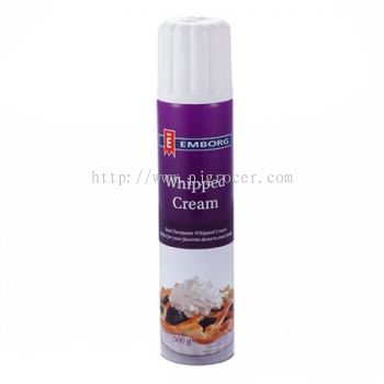 Emborg Whipped Cream (Aerosol) 500gm