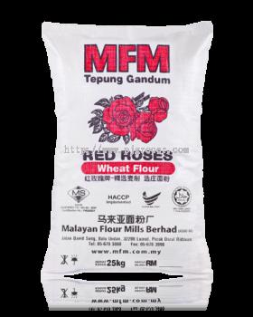 Red Roses Tepung Gandum 25kg