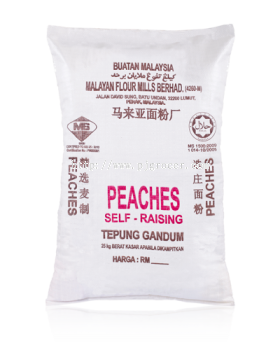 Peaches Self Raisin Flour 25kg