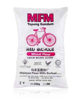 Red Bicycle Tepung Gandum 25kg