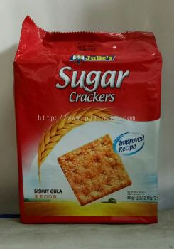 Julie's Sugar Crackers 345g