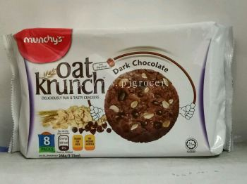 Munchy's Oat Krunch Dark Chocolate 208g