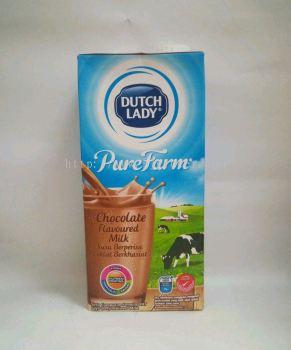 Dutch Lady UHT Chocolate Flavoured Milk 1Litre
