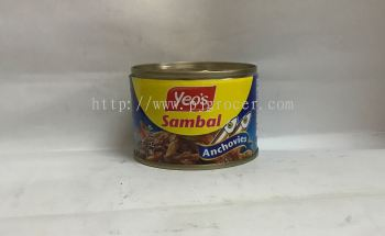 Yeos Sambal Ikan Belis 160gm