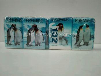 Premier Pocket Tissue (penguin) 11's x 12