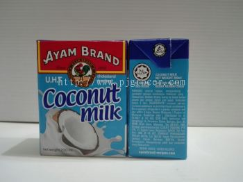 Ayam brand coconut milk 200gm