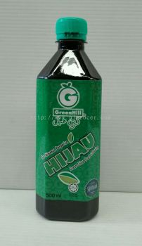 GreenHill Green colour Flavoured 500ml