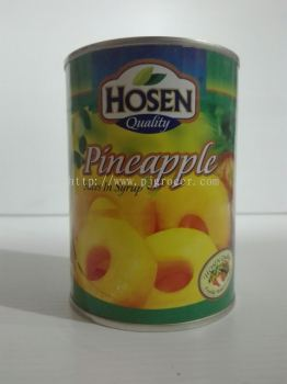 Hosen Pineapple Slices 565gm