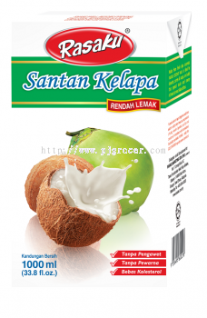 Rasaku Santan Low Fat 1Litre