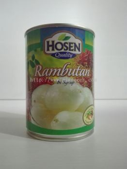 Hosen Rambutan In Syrup 565gm