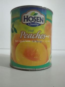 Hosen Peaches Halves 825gm