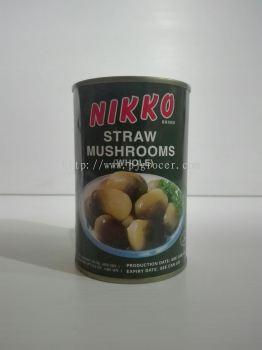 Nikko Straw Mushroom 425gm