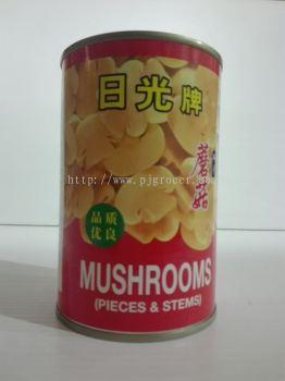 Nikko Mushroom Pieces & Stem 425gm