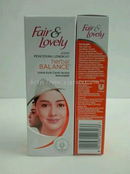 Fair& Lovely Herbal Balance 50gm