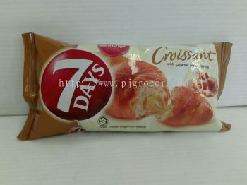 7days croissant with caramel cream filling 60gm