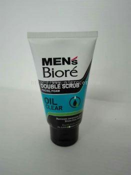 Men's Biore Double Scrub Oil Clear 50gm