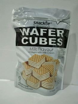 Snackie Milk Wafer Cubes 200gm