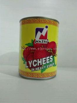 Nazri Lychees 565g
