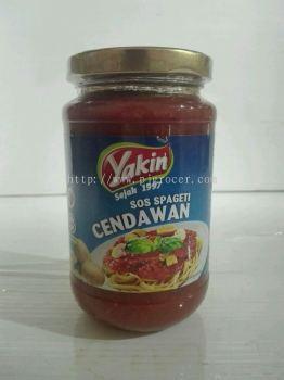 Yakin Mushrooms Spaghetti Sauce 350g