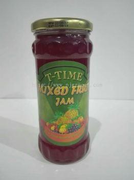 T- Time Mixed Fruit Jam  440gm