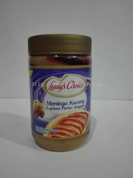 Lady's Choice Grape Flavoured Stripes Peanut Butter 500gm