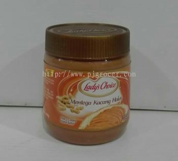Lady's Choice Thick Creamy Peanut Butter 340gm