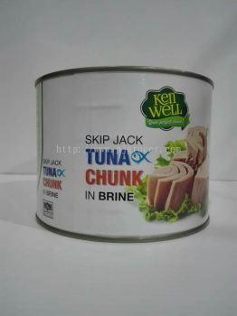 Ken Well Tuna Chunk In Brine 1.88kg