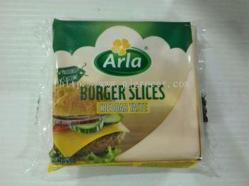 Arla Burger Slices Cheddar Taste 200gm