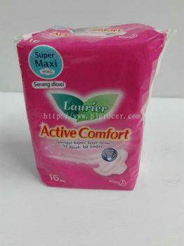 Laurier Actice Comfort Super Maxi Wing 16's