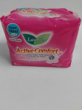 Laurier Active Comfort Super Maxi Wing 8's
