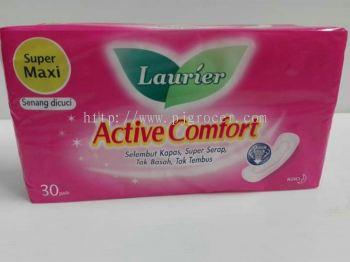 Laurier Active Comfort Super Maxi 30's