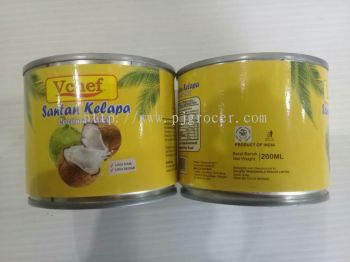 Vchef Coconut milk 200ml