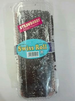 Roti Sedap Strawberry Swiss Roll 300gm