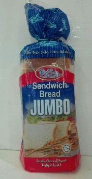 Roti Sedap Sandwich Bread Jumbo 500gm