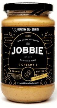JOBBIE PEANUT BUTTER CREAMY (BLACK) 380G