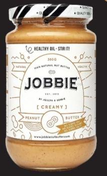 JOBBIE PEANUT BUTTER CREAMY (WHITE) 380G