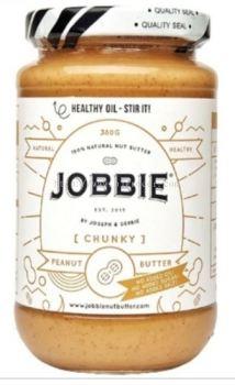 JOBBIE PEANUT BUTTER CHUNCY (WHITE) 380G