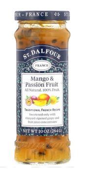 ST.DALFOUR JAM MANGO&PASSION FRUIT 284G