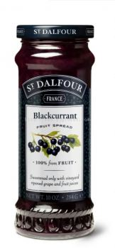ST.DALFOUR JAM BLACKCURRANT FRUIT 284G