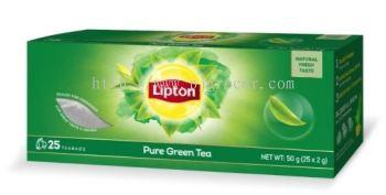 LIPTON GREEN TEA TEABAGS 2Gx25'S