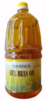 Pure Premium Rice Bran Oil 2L
